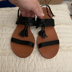 Kate spade leather sandals